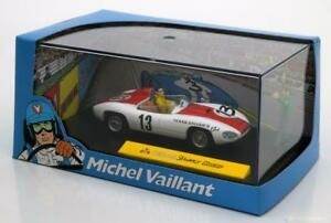 VAILLANTE-13-TEXAS-DRIVER-BOCAR-1-43-MICHEL-VAILLANT-ALTAYA-WHITE-RED-BIANCA