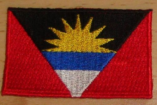 ANTIGUA /& BARUDA Country Flag Embroidered PATCH