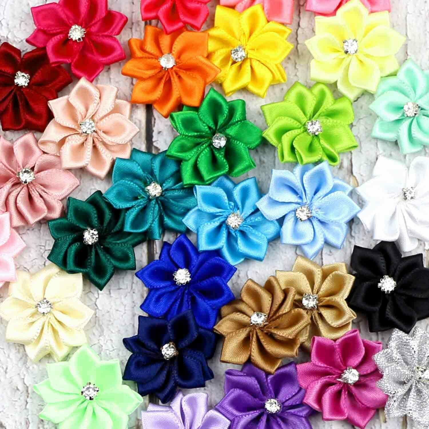 Vosarea 5 Yard JUST FOR YOU Silk Ribbon DIY Gift Ribbon for Craft Decorative Gift Flowers