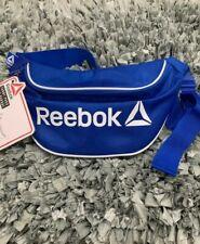 Men/'s Women/'s Unisex Bag Water Resistant Reebok Blue Fanny Pack NWT