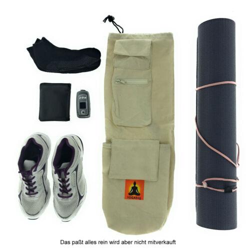 Tasche für Yogamatte Sport Schuhe Handy Socken Pilates Yoga Tragetasche Bag