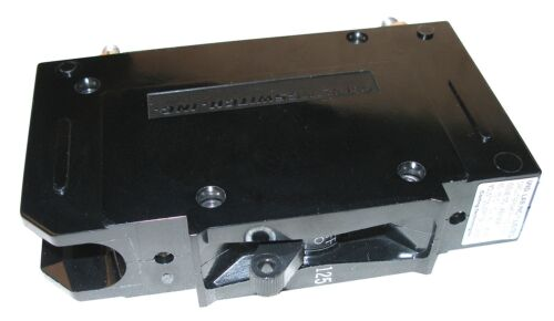MidNite Solar MNEDC125RT Remote Trip Circuit Breaker aka Shunt Trip Breaker