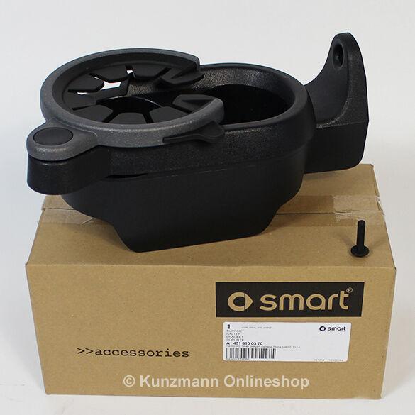 Getränkehalter Cupholder schwarz smart fortwo 451 Original smart Zubehör NEU