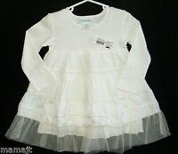 Naartjie 12 18 Months Antique Cream Netting Dress Tiered Lace Beach Photos
