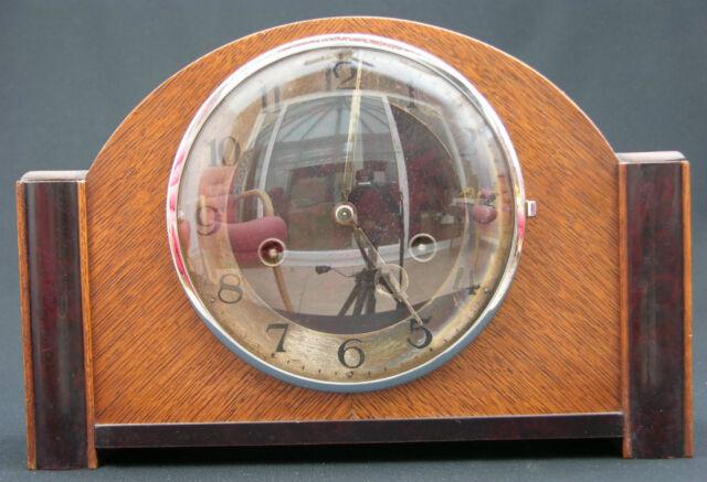 15041901005HAU Junghans Art Deco 1935 Mantel Clock Parts Repair