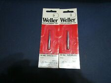 2 Nos Weller Pts6 600f Conical Tip For Tcptc201 Series Soldering Irons