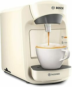 Tassimo Bosch Suny Special Edition Coffee Machine Cream