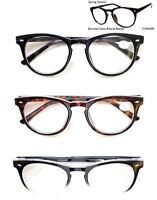 Blended Clear Bifocal Reader Spring Temple Reading Glasses Eyeglasses 1.00-3.00