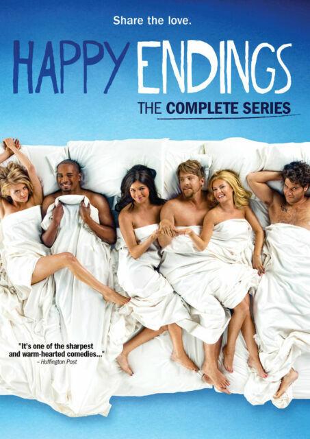 Happy Endings Complete Tv Series Dvd Seasons 1 2 3 For Sale Online Ebay