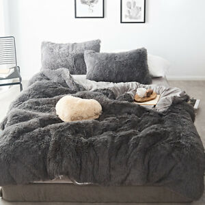 Luxury Soft Velvet Bedding Sets Winter Warm Fleece Bed