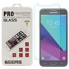 For Samsung Galaxy J3 Emerge Premium HD [Tempered Glass] Screen Protector Film