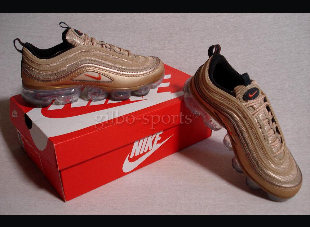 Nike Air Vapormax 97 W Blaur Vintage Gold Gr 38 39 Selten AO4542 902 Air Max 97