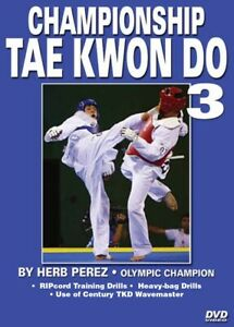 Championship Tae Kwon Do #3 Advanced Kicking DVD Olympic
