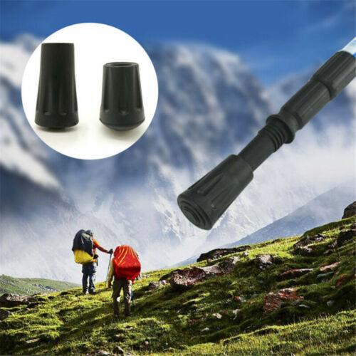 Reinforced Rubber Tip End Cap Hammer Trekking Pole Hiking Walking Stick Tool