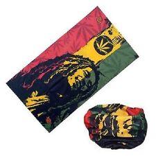 Bob Marley Biker Balaclava Neck Tube Snood Scarf Face Mask Bandana Jamaica