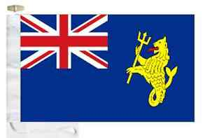 Port of London Authority Ensign Courtesy Boat Flag Roped & Toggled.