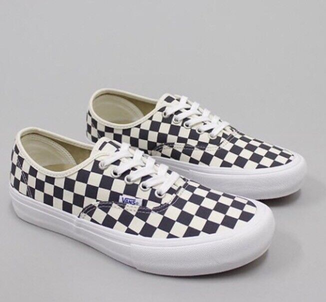 Vans Authentic Pro Checkerboard Pro Checker Navy Men's SZ 11.5 NEW