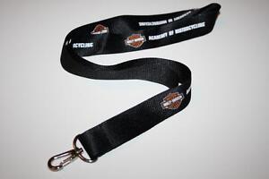 Harley-Davidson-Schluesselband-Lanyard-Keyholder-NEU