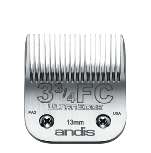ANDIS Ultra Edge Detachable Grooming Blade Sz 3 3/4FC Dog Pet Grooming USA