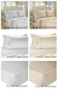 LUXURY-EGYPTIAN-COTTON-200-COUNT-BEDDING-DUVET-COVER-FITTED-FLAT-PILLOWCASE