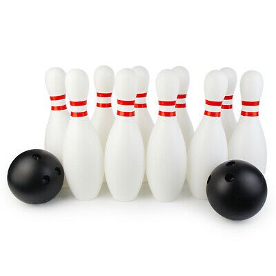12Pcs Adult Kids Wooden Bowling Toy Set Indoor Sports Toys