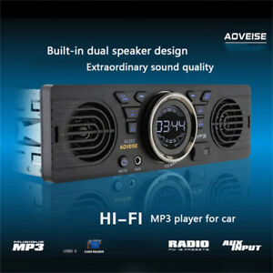 12V-Car-SD-Card-MP3-Stereo-Audio-Electric-Radio-Speaker-Bluetooth-USB-Car-Player
