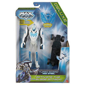 MAX-STEEL-TURBO-BOARD-WITH-BLADE-ATTACK-DELUXE-ACTION-FIGURE-BRAND-NEW-BHH31