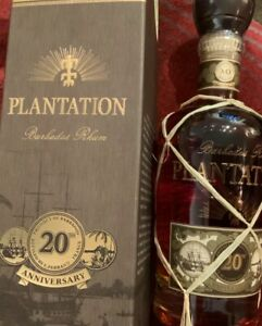 Plantation Barbados Extra Old 20th Anniversary 700ml Rum ...