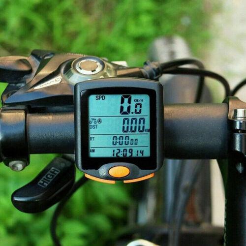 Vélo Bicyclette Affichage LCD Digital Compteur De Velo Neuf Odomètre Imperméable