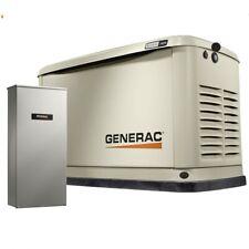 Generac 7177 16kW Standby Generator w/Alum Encl, Wifi, 16 Circuit LC NEMA3 New