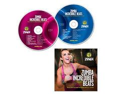 ZUMBA Incredible Beats - 2-CD set!!!Over 20 Zumba® tracks Incredible ReSULTS!