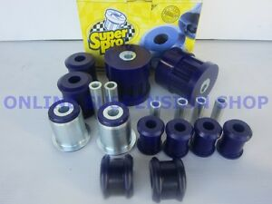 SUPER-PRO-Front-Suspension-Bush-Kit-suits-Ford-Falcon-BA-BF-SUPERPRO
