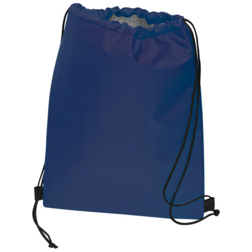 Sportbeutel Gymbag mit isolierendem Innenfutter Turnbeutel //Farbe:dunkelblau