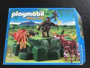 Gorilles-Et-Okapis-Playmobil-5415