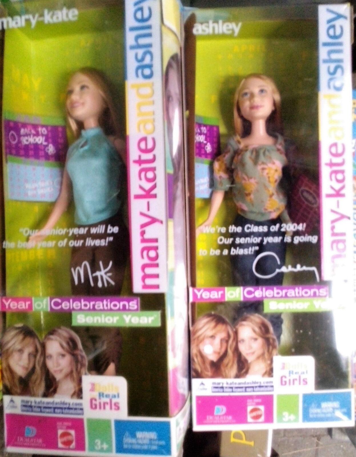 Mattel B4789 und B4791 Mary Kate und Ashley , 2 Puppen  , NEU,OVP