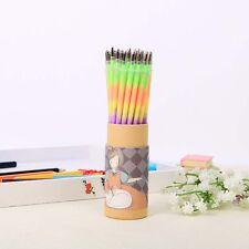 10pcs Multi Color Rainbow Refill Highlighters Gel Pen Students Painting Graffiti
