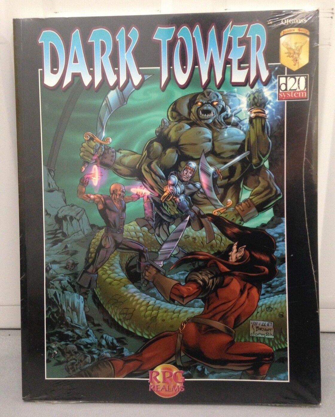 Judges Guild Dark Tower  D20 System Adventure New and Sealed GJG 0088
