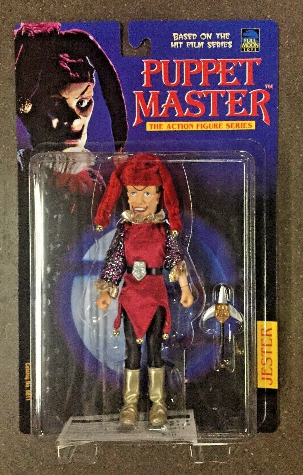 Full Moon Toys 1998 Puppet Master bufón Horror Acción Figura Monstruo Original