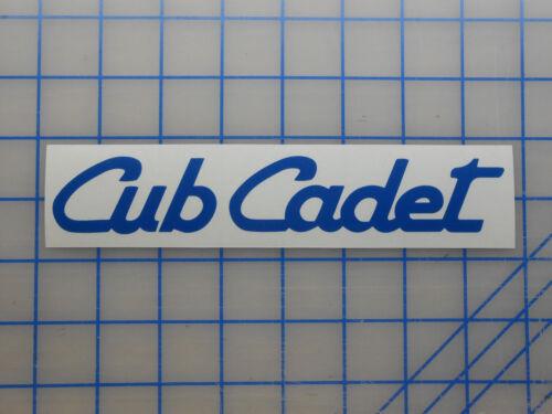 "Cub Cadet Decal Sticker 5.5/"" 7.5/"" 11/"" Lawn Mower Blade Belt Zero Turn LTX Push"