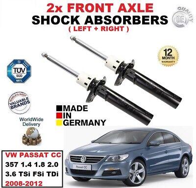 REAR BRAKE PADS FIT VW PASSAT CC 2008-2012 1.4 1.8 2.0 3.6 TSI TDI FSI 4MOTION