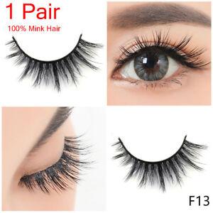 e2569f95786 SKONHED Luxury 3D Mink False Eyelashes Wispy Cross Long Full Strips ...