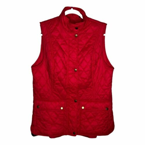 Barbour Calvary Quilted Gilet Puffer Vest 14 - image 1
