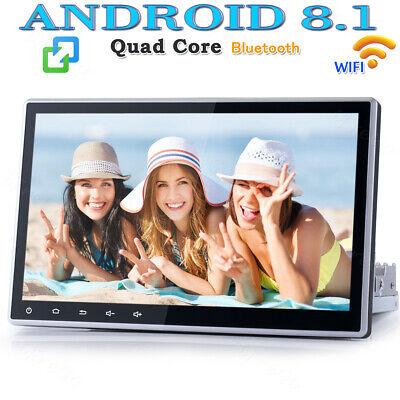 """Rückfahrkamera 10,1/"""" GPS Autoradio Android 8.1 NAV 1DIN 2DIN BT4.0 Radio 1G+16G"""