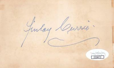 Autographs-original Delicious Finlay Currie D 1968 Signed 3x5 Index Card Actor/great Expectations Cc38072 Sale Overall Discount 50-70%