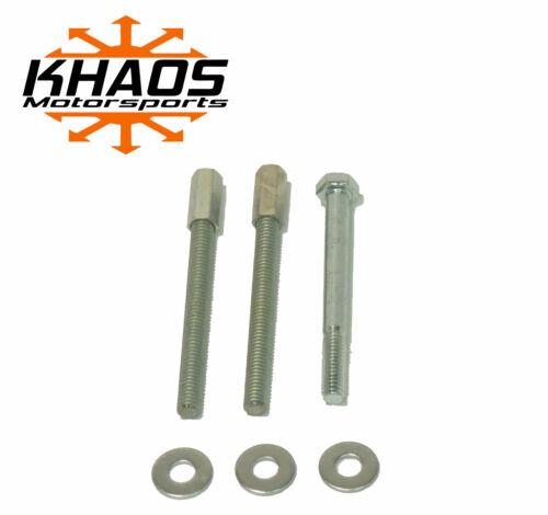 Khaos Motorsports Helix Bore Throttle Body Spacer 87-95 Chevy GMC 4.3L 5.0L 5.7L