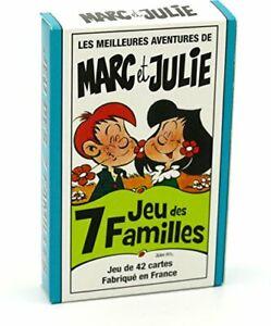 FRANCE-CARTES-Jeu-des-7-familles-Les-Meilleures-Aventures-de-Marc-et-Julie