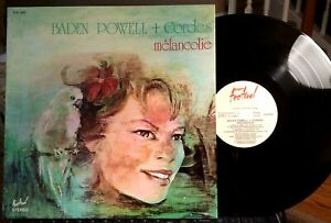 Baden-Powell-LP-Melancolie-Festival-FLD-645-1975-NM-Janine-de-Waleyne