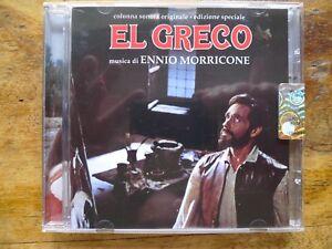 """ENNIO MORRICONE """"EL GRECO"""" classic Score from the Maestro's early Days OST CD - Neubiberg, Deutschland - ENNIO MORRICONE """"EL GRECO"""" classic Score from the Maestro's early Days OST CD - Neubiberg, Deutschland"""