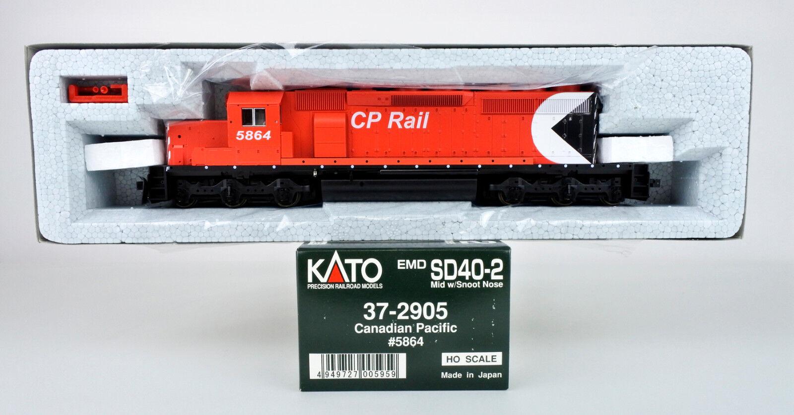 connotazione di lusso low-key KATO KATO KATO HO SCALE   37-2905 CANADIAN PACIFIC SD40-2 DIESEL ENGINE  5864  migliori prezzi e stili più freschi