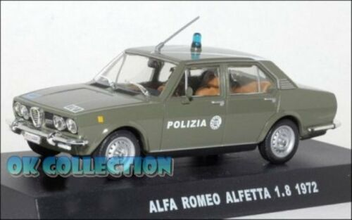 ALFA ROMEO ALFETTA  1.8-1972 /_ Police 24 1:43 Polizia italiana